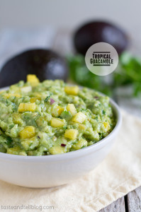 Tropical Guacamole on Taste and Tell