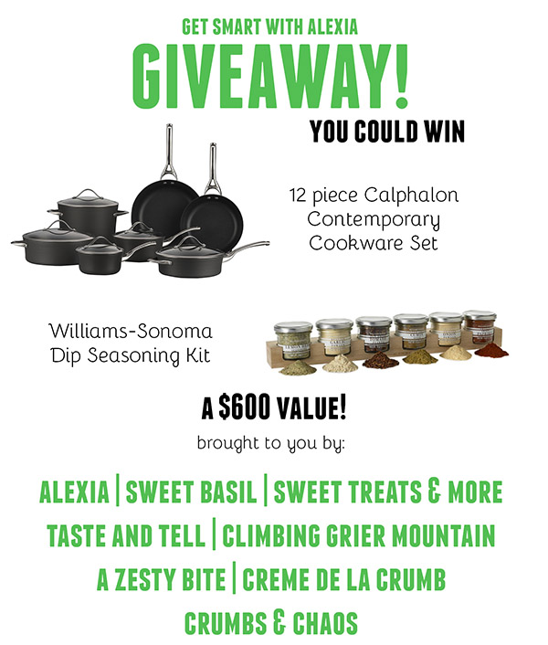 Get Smart with Alexia Giveaway