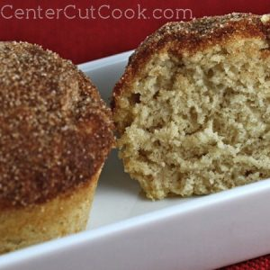 Cinnamon Sugar Muffins from CenterCutCook