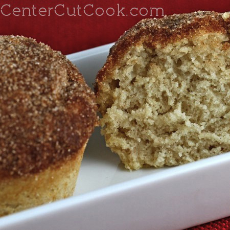 Cinnamon Sugar Muffins from CenterCutCook