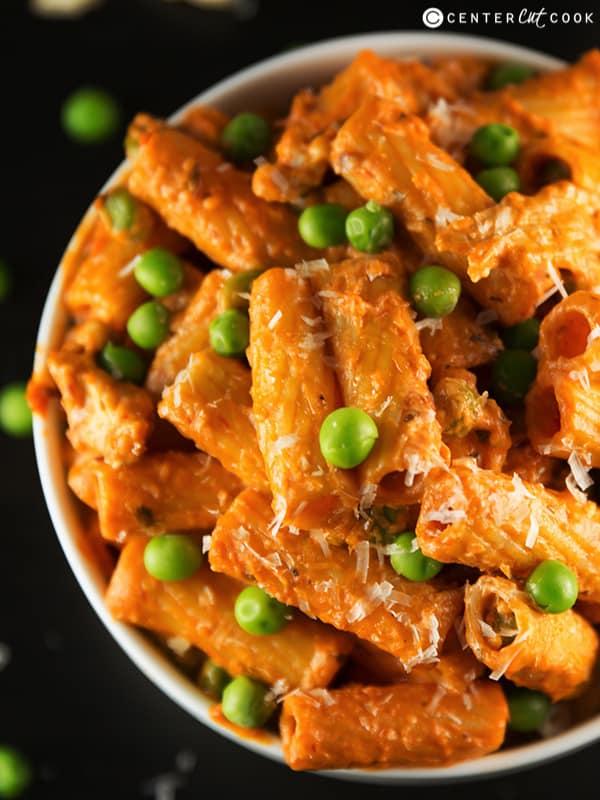 Spicy Chicken Rigatoni from CenterCutCook