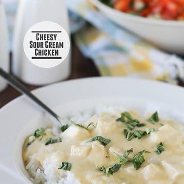 Cheesy Sour Cream Chicken on Taste and Tell