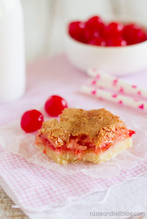 Coconut Cherry Almond Bars