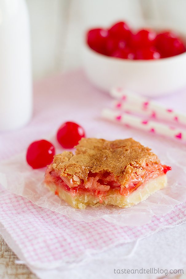 Coconut Cherry Almond Bars Recipe