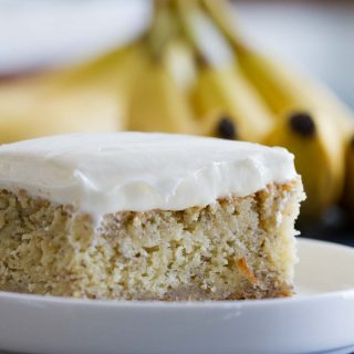 Frosted Banana Cake Recipe
