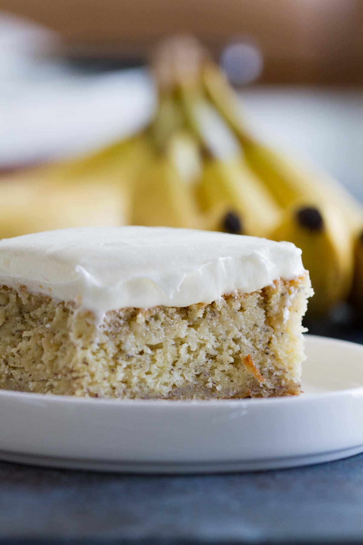 Frosted Banana Cake Taste And Tell