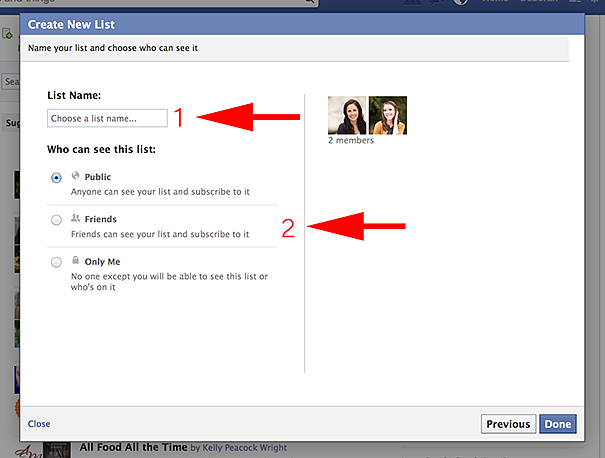 How to Create an Interest List on Facebook