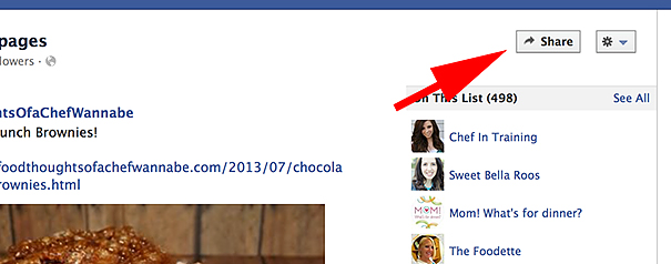 How to Share an Interest List on Facebook