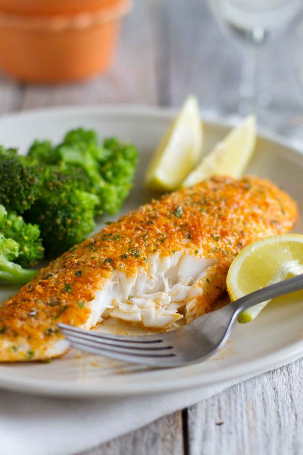 Parmesan Crusted Tilapia An Easy Recipe That Is Well Loved