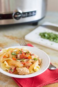 Slow Cooker Chicken Paprikash