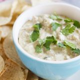 Slow Cooker Queso Verde Dip