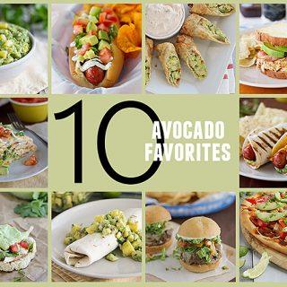 10 Favorite Avocado Recipes on Taste and Tell
