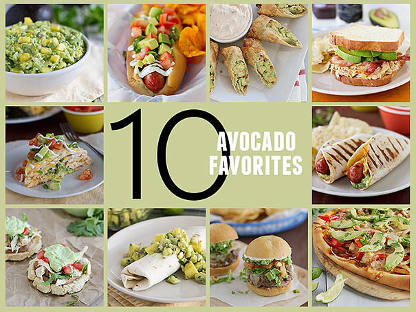 10 Favorite Avocado Recipes on Taste and Tell