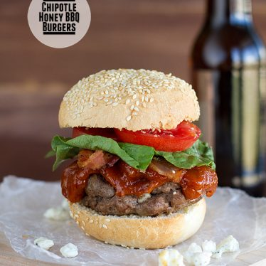 Chipotle Honey BBQ Burgers on Taste and Tell