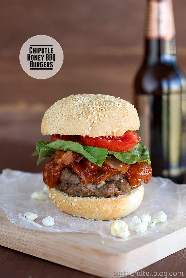 Chipotle Honey BBQ Burgers