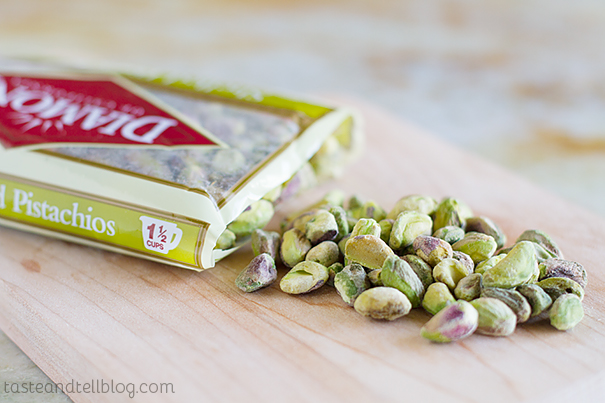 Diamond Pistachios - Raw, shelled, no salt added!
