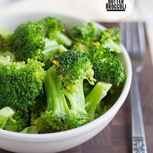 Lemon Butter Broccoli on Taste and Tell