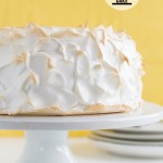 Lemon Meringue Angel Cake on Taste and Tell