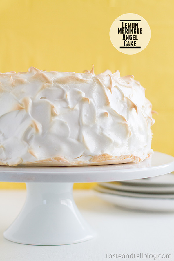 Lemon Meringue Angel Cake Taste and Tell