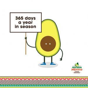 Avocados from Mexico are always in season
