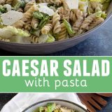 Caesar Salad with Pasta