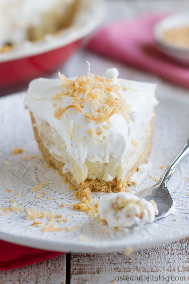 Coconut Cream Pie - the last coconut cream pie recipe you will ever need!