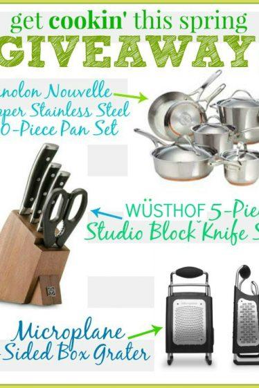 Get Cookin Giveaway