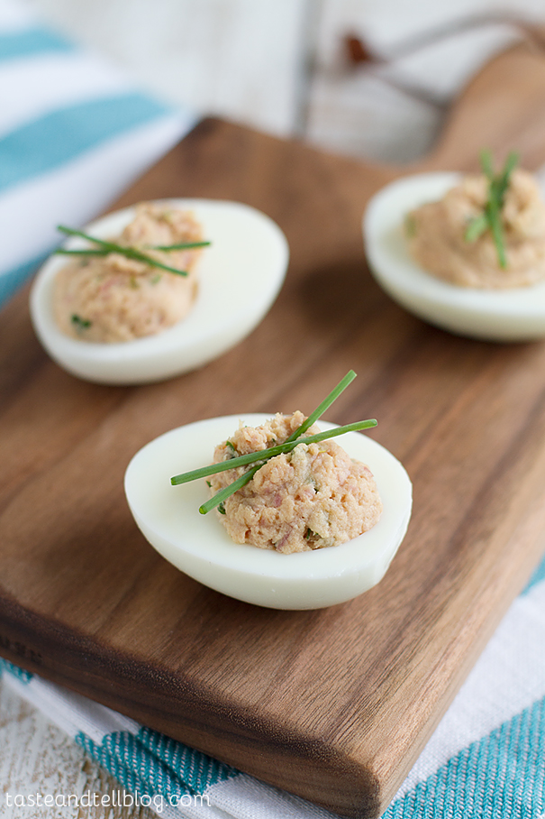 Deviled Ham and Eggs {Fridays with Rachael Ray} - Taste ...