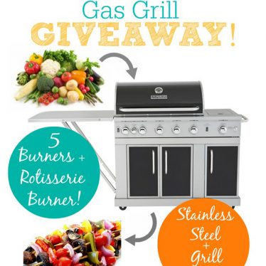 Gas Grill Giveaway