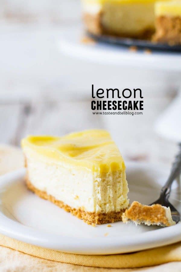 Best Lemon Cheesecake Recipe