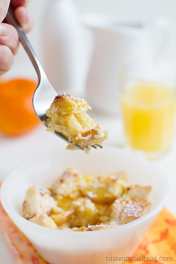 Orange Maple French Toast Casserole - Taste and Tell