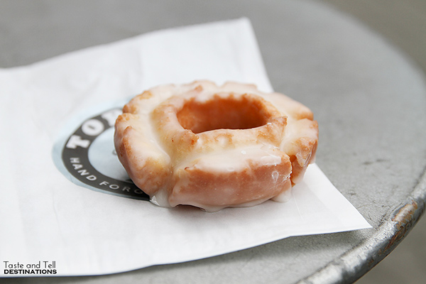 Old Fashioned Doughnut at Top Pot Doughnuts - Where to eat in Seattle, Washington