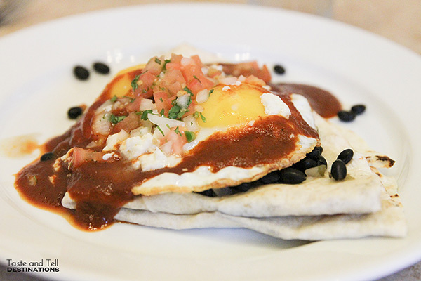 Huevos Rancheros from Lucky Diner - Where to eat in Seattle, Washington