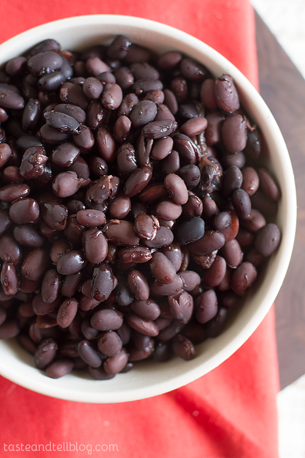 Slow Cooker Black Beans on Taste and Tell