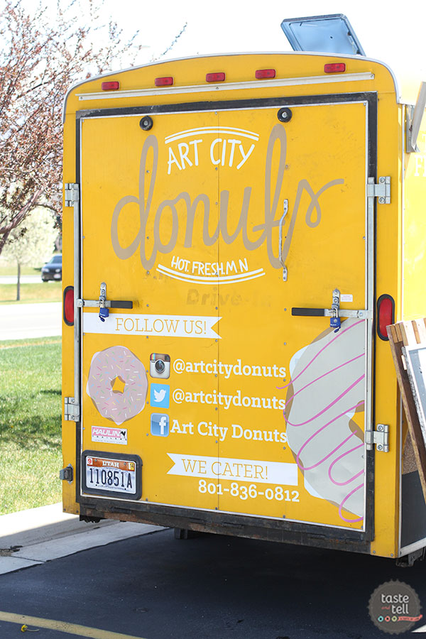 Art City Donuts – Utah food truck serving hot mini donuts. Go straight for the daily specials - to die for!
