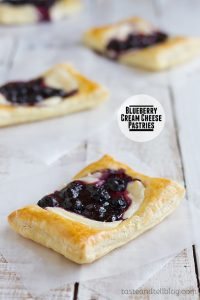 Blueberry Cream Cheese Pastries on Taste and Telll