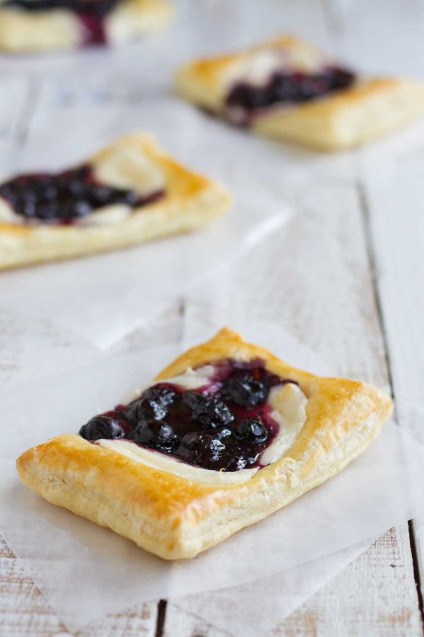 Blueberry Cream Cheese Pastries Taste And Tell
