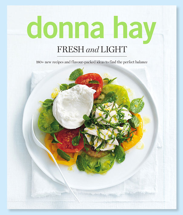 A review of Donna Hay's Fresh and Light, plus a recipe for Polenta Crust Tomato Tart