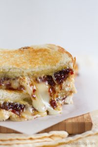 Ultimate Grilled Cheese with Bacon Jam