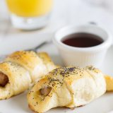 Breakfast Pigs in a Blanket