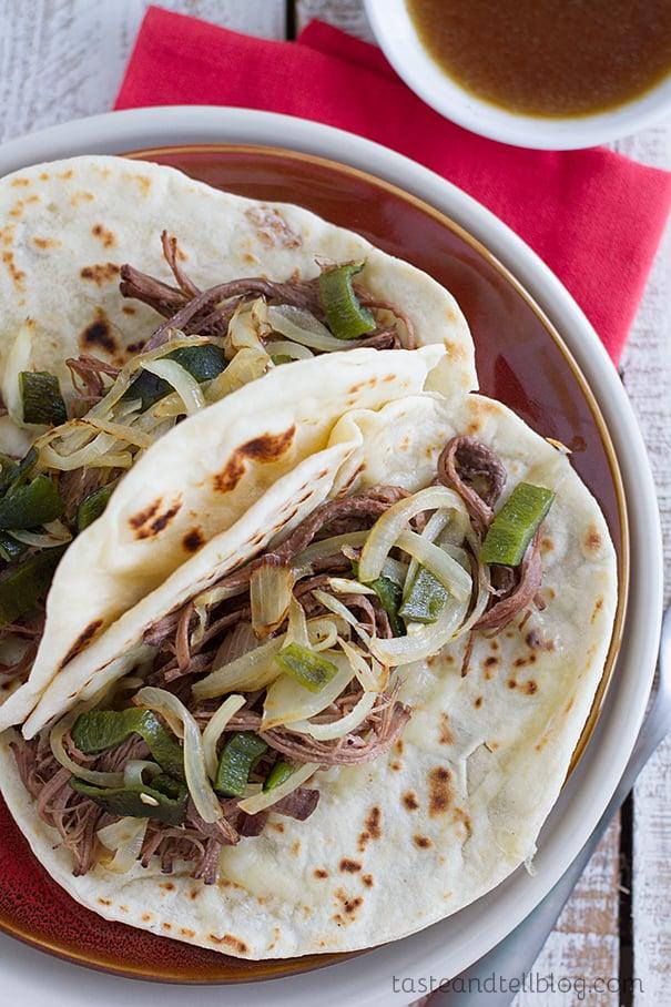 Brisket Tacos Dallas Style