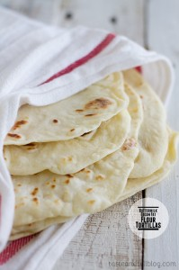 Buttermilk Bacon-Fat Flour Tortillas