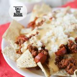 Chili Dog Nachos on Taste and Tell