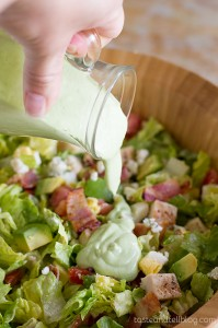Chopped Cobb Salad with Avocado Ranch