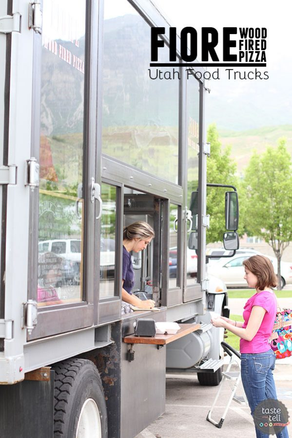 Fiore Wood Fired Pizza – Utah food truck serving handmade Italian style pizza, using fresh ingredients.