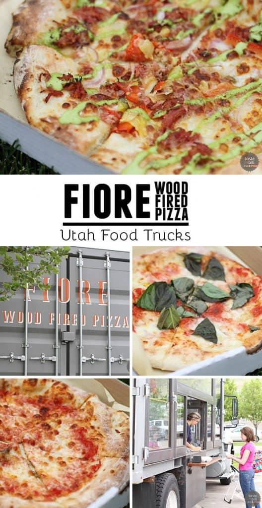 Fiore Wood Fired Pizza – Utah food truck serving handmade Italian style pizza, using fresh ingredients.