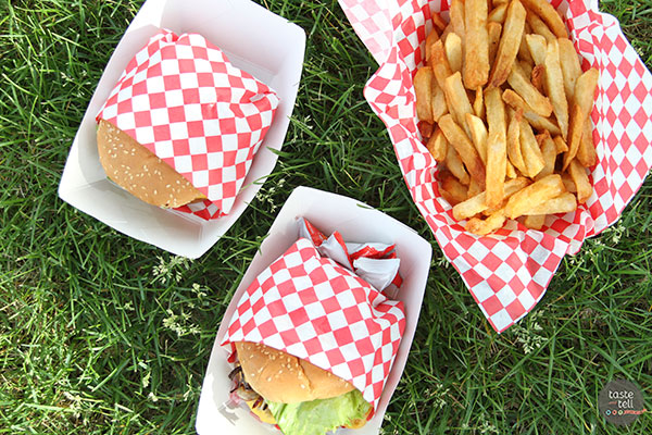 The Grill Sergeant - a Utah food truck serving grilled burgers, chicken sandwiches and other menu items.