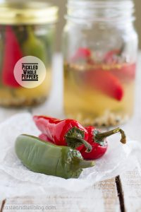 Pickled Whole Peppers