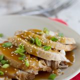 Slow Cooker Sesame Pork on Taste and Tell