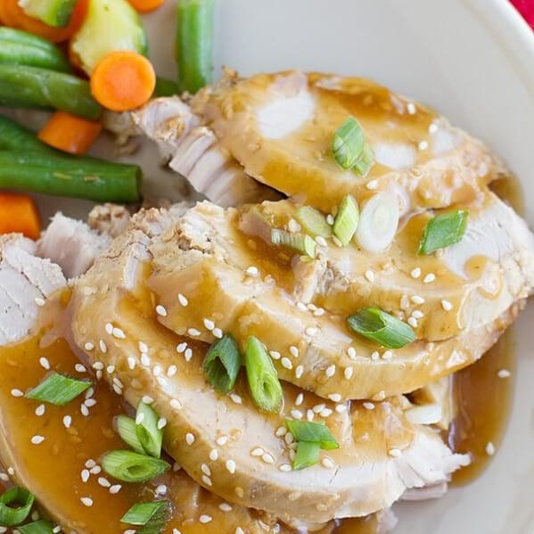 Slow Cooker Sesame Pork
